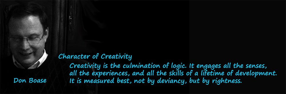 Character of Creativity